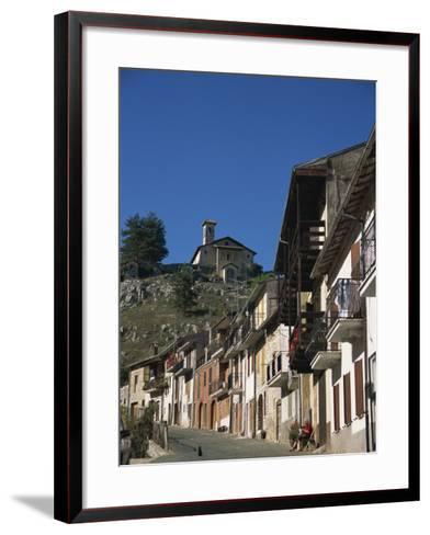 Tagliacozzo, Abruzzo, Italy, Europe-Ken Gillham-Framed Art Print