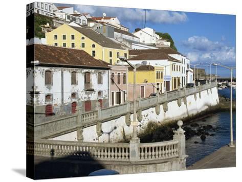 Bay Promenade, Angra Do Heroismo, Terceira, Azores, Portugal, Atlantic, Europe-Ken Gillham-Stretched Canvas Print