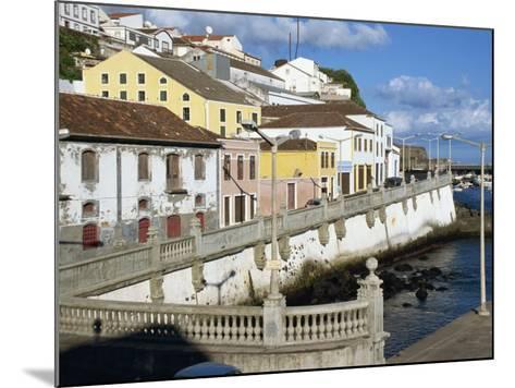 Bay Promenade, Angra Do Heroismo, Terceira, Azores, Portugal, Atlantic, Europe-Ken Gillham-Mounted Photographic Print