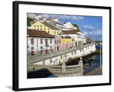 Bay Promenade, Angra Do Heroismo, Terceira, Azores, Portugal, Atlantic, Europe-Ken Gillham-Framed Art Print
