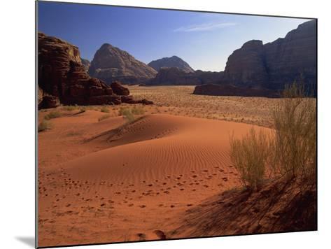 Desert at Wadi Rum, Jordan, Middle East-Fred Friberg-Mounted Photographic Print