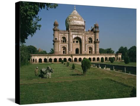 Moghul Tomb Dating from the 18th Century, Delhi, India-Christina Gascoigne-Stretched Canvas Print