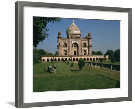 Moghul Tomb Dating from the 18th Century, Delhi, India-Christina Gascoigne-Framed Art Print