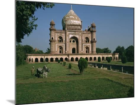 Moghul Tomb Dating from the 18th Century, Delhi, India-Christina Gascoigne-Mounted Photographic Print