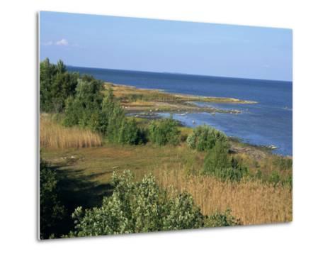 On the Coast of Muhu, an Island to the West of Tallinn, Muhu, Estonia, Baltic States, Europe-Robert Harding-Metal Print