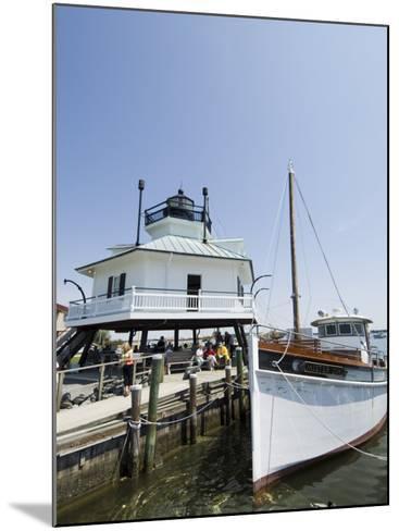 Chesapeake Bay Maritime Museum, Miles River, Chesapeake Bay Area, Maryland, USA-Robert Harding-Mounted Photographic Print