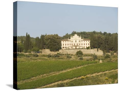 Near Radda, Chianti, Tuscany, Italy, Europe-Robert Harding-Stretched Canvas Print