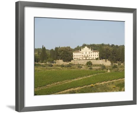 Near Radda, Chianti, Tuscany, Italy, Europe-Robert Harding-Framed Art Print