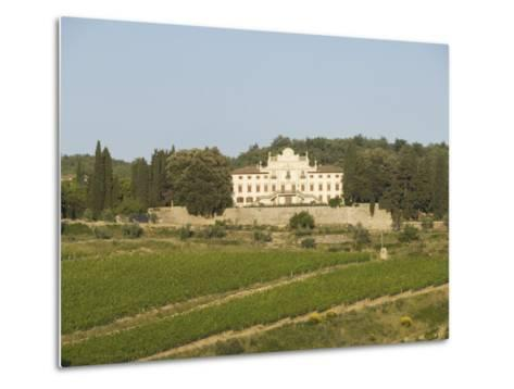 Near Radda, Chianti, Tuscany, Italy, Europe-Robert Harding-Metal Print