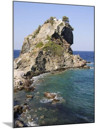 Church of Agios Ioannis, Used in the Film Mamma Mia, Skopelos, Sporades Islands, Greece-Robert Harding-Mounted Photographic Print