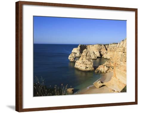 Praia Da Marinha, Algarve, Portugal, Europe-Amanda Hall-Framed Art Print