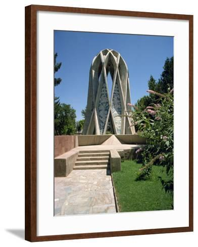 Tomb of Omar Khayyam, Iran, Middle East-Robert Harding-Framed Art Print