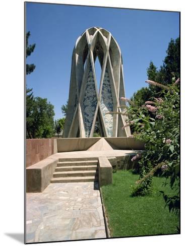 Tomb of Omar Khayyam, Iran, Middle East-Robert Harding-Mounted Photographic Print