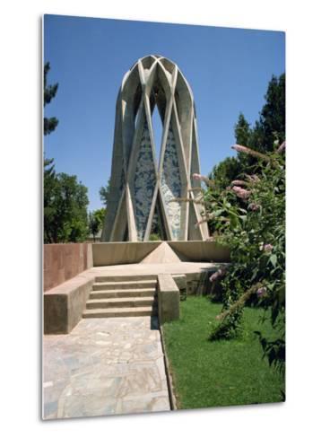 Tomb of Omar Khayyam, Iran, Middle East-Robert Harding-Metal Print
