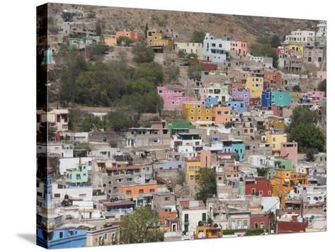 Colourful Buildings, Guanajuato, Guanajuato State, Mexico, North America-Robert Harding-Stretched Canvas Print