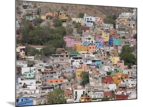 Colourful Buildings, Guanajuato, Guanajuato State, Mexico, North America-Robert Harding-Mounted Photographic Print