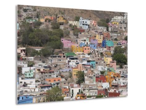 Colourful Buildings, Guanajuato, Guanajuato State, Mexico, North America-Robert Harding-Metal Print