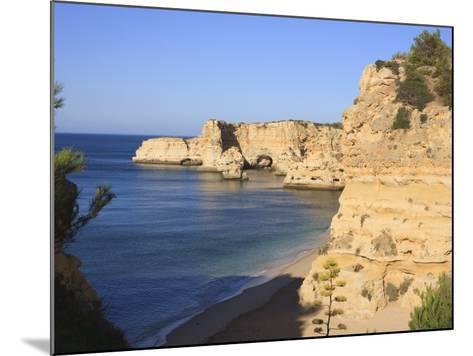Praia Da Marinha, Algarve, Portugal, Europe-Amanda Hall-Mounted Photographic Print