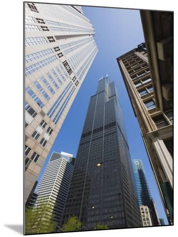 Sears Tower, Chicago, Illinois, United States of America, North America-Amanda Hall-Mounted Photographic Print