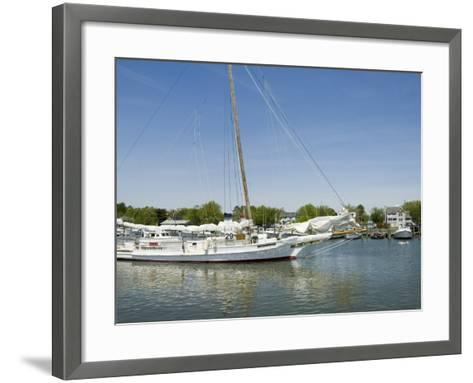 Dogwood Harbour, Tilghman Island, Talbot County, Chesapeake Bay Area, Maryland, USA-Robert Harding-Framed Art Print