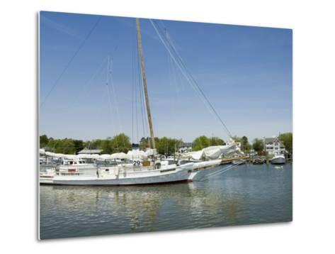 Dogwood Harbour, Tilghman Island, Talbot County, Chesapeake Bay Area, Maryland, USA-Robert Harding-Metal Print