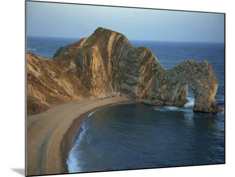 Purbeck Limestone Arch, Durdle Door, Near Lulworth, Dorset Coast, England, United Kingdom, Europe-Dominic Harcourt-webster-Mounted Photographic Print