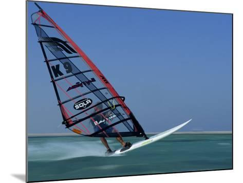 Windsurfing at Speed, Red Sea, Egypt, North Africa, Africa-Dominic Harcourt-webster-Mounted Photographic Print