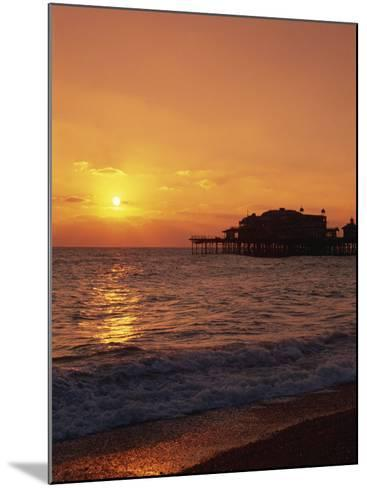 Seafront, Brighton, Sussex, England, United Kingdom, Europe-Amanda Hall-Mounted Photographic Print