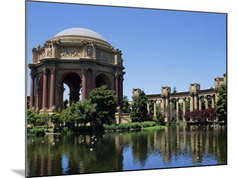 Palace of Fine Arts, Built of Plaster in 1915, Marina District, San Francisco, California, USA-Fraser Hall-Mounted Photographic Print