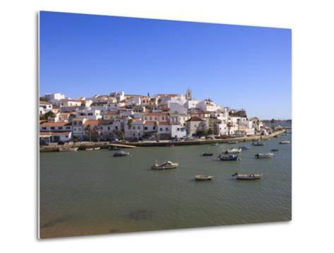 Ferragudo, Algarve, Portugal, Europe-Amanda Hall-Metal Print