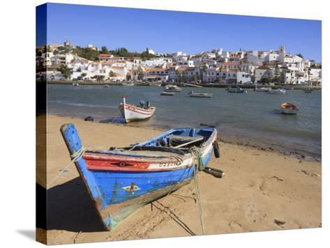 Ferragudo, Algarve, Portugal, Europe-Amanda Hall-Stretched Canvas Print
