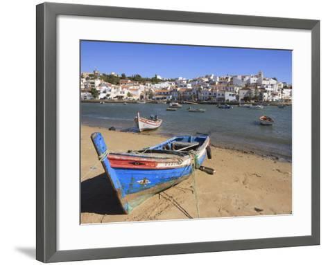 Ferragudo, Algarve, Portugal, Europe-Amanda Hall-Framed Art Print
