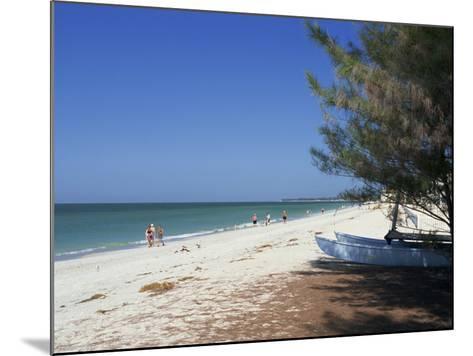 Beach North of Longboat Key, Anna Maria Island, Gulf Coast, Florida, USA-Fraser Hall-Mounted Photographic Print