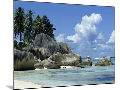 Grand Anse, La Digue, Seychelles, Indian Ocean, Africa-Robert Harding-Mounted Photographic Print