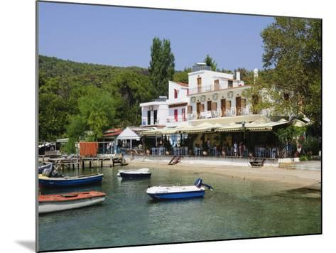 Small Fishing Harbour of Agnontas, Skopelos, Sporades Islands, Greek Islands, Greece, Europe-Robert Harding-Mounted Photographic Print