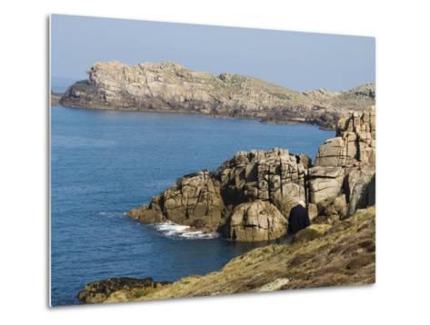 Hell Bay on a Calm Day, Bryer, Isles of Scilly, Off Cornwall, United Kingdom, Europe-Robert Harding-Metal Print