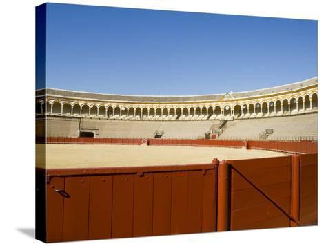 Plaza De Toros De La Maestranza, El Arenal District, Seville, Andalusia, Spain-Robert Harding-Stretched Canvas Print