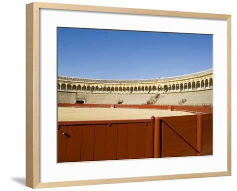 Plaza De Toros De La Maestranza, El Arenal District, Seville, Andalusia, Spain-Robert Harding-Framed Art Print