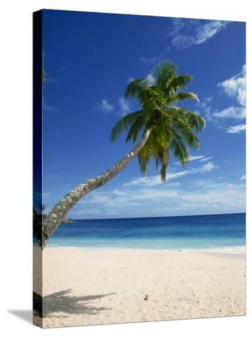 Beach, Mahe, Seychelles, Indian Ocean, Africa-Robert Harding-Stretched Canvas Print