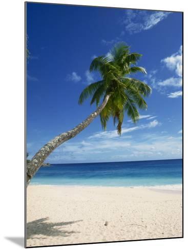 Beach, Mahe, Seychelles, Indian Ocean, Africa-Robert Harding-Mounted Photographic Print