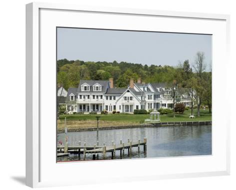 St. Michaels, Talbot County, Chesapeake Bay Area, Maryland, United States of America, North America-Robert Harding-Framed Art Print
