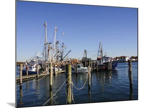 Montauk Harbour, Montauk, Long Island, New York State, United States of America, North America-Robert Harding-Mounted Photographic Print