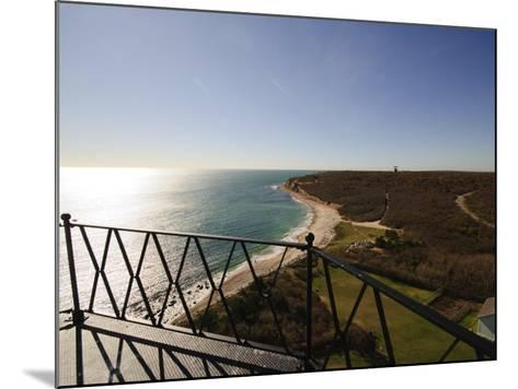 View from Montauk Point Lighthouse, Montauk, Long Island, New York State, USA-Robert Harding-Mounted Photographic Print