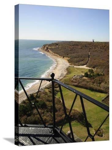 View from Montauk Point Lighthouse, Montauk, Long Island, New York State, USA-Robert Harding-Stretched Canvas Print
