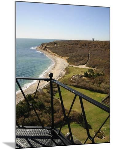 View from Montauk Point Lighthouse, Montauk, Long Island, New York State, USA-Robert Harding-Mounted Photographic Print