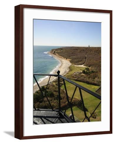 View from Montauk Point Lighthouse, Montauk, Long Island, New York State, USA-Robert Harding-Framed Art Print