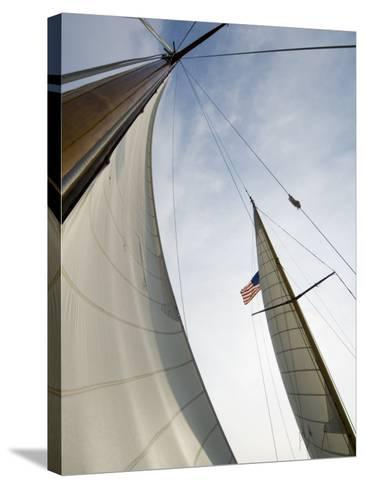 Knapps Narrows, Tilghman Island, Talbot County, Chesapeake Bay Area, Maryland, USA-Robert Harding-Stretched Canvas Print
