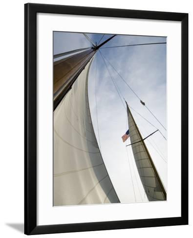 Knapps Narrows, Tilghman Island, Talbot County, Chesapeake Bay Area, Maryland, USA-Robert Harding-Framed Art Print
