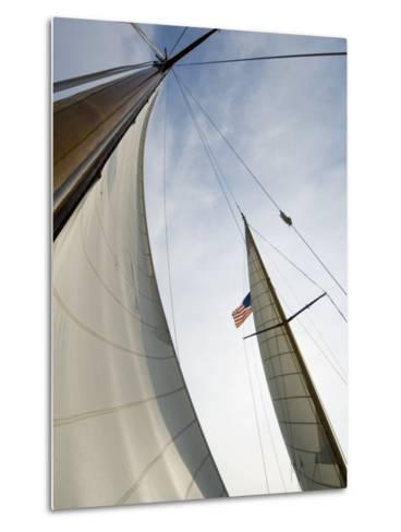 Knapps Narrows, Tilghman Island, Talbot County, Chesapeake Bay Area, Maryland, USA-Robert Harding-Metal Print