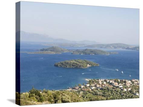 Nidri, Lefkada, Ionian Islands, Greek Islands, Greece, Europe-Robert Harding-Stretched Canvas Print